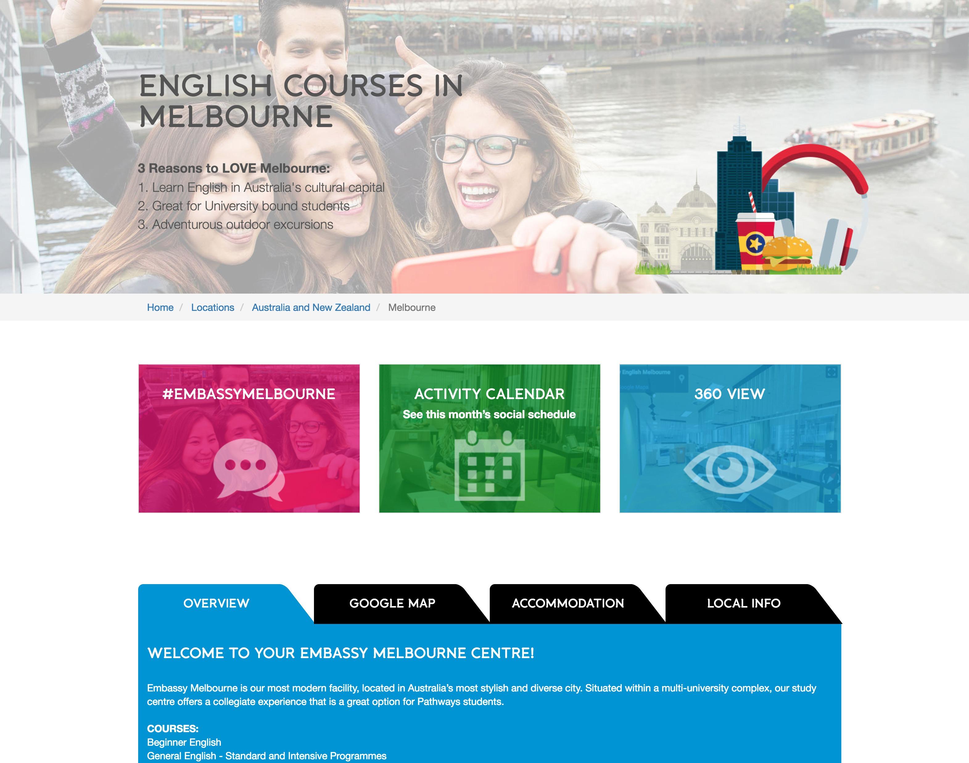 Embassy English Melbourne