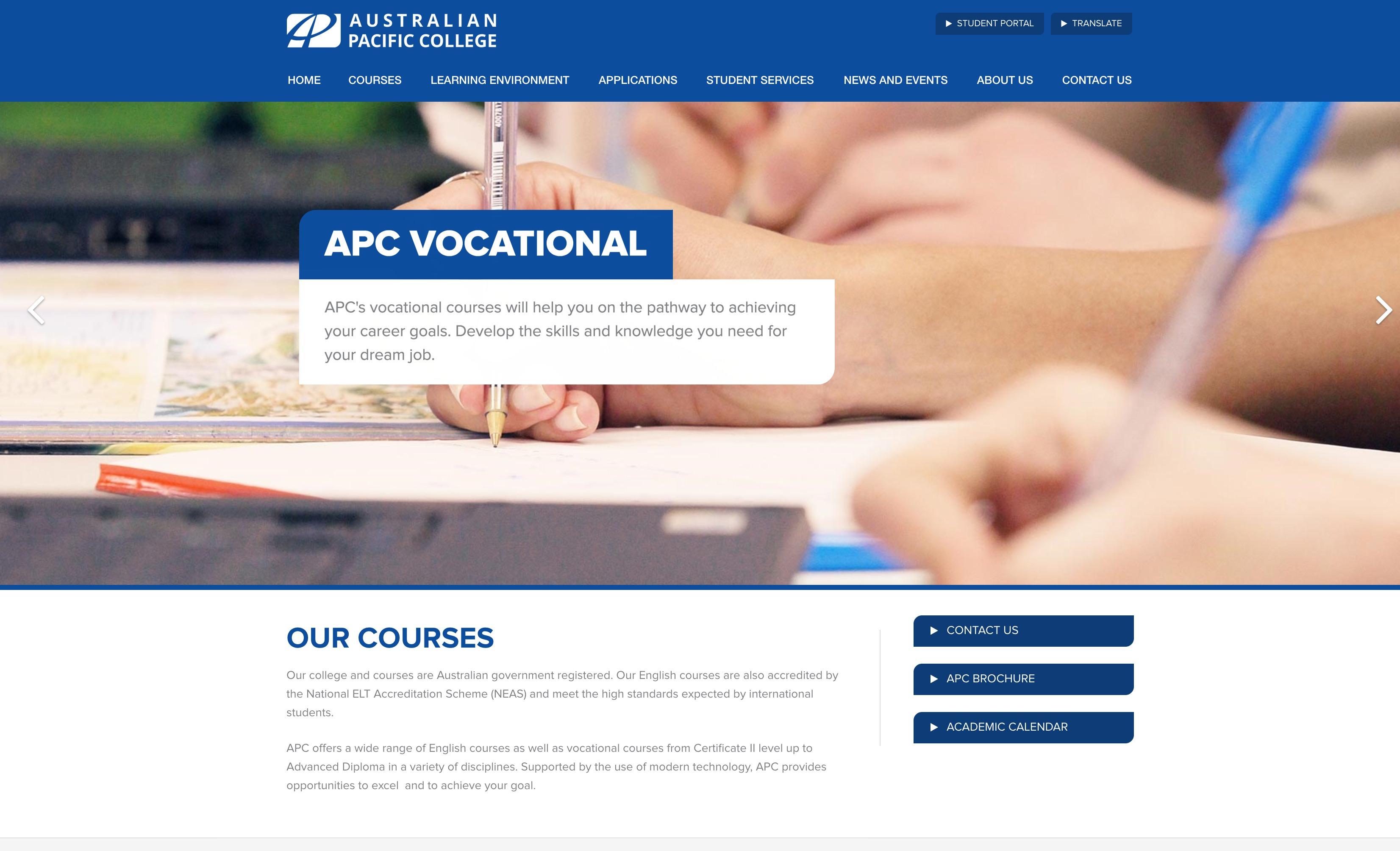 Australian Pacific College(APC)Melbourne Campus