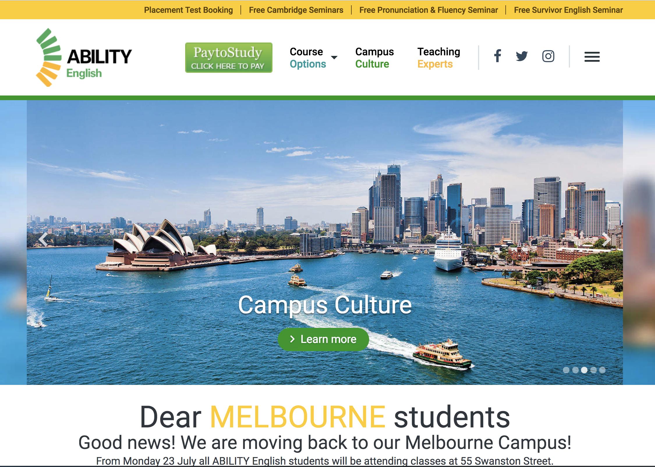 Ability English Sydney