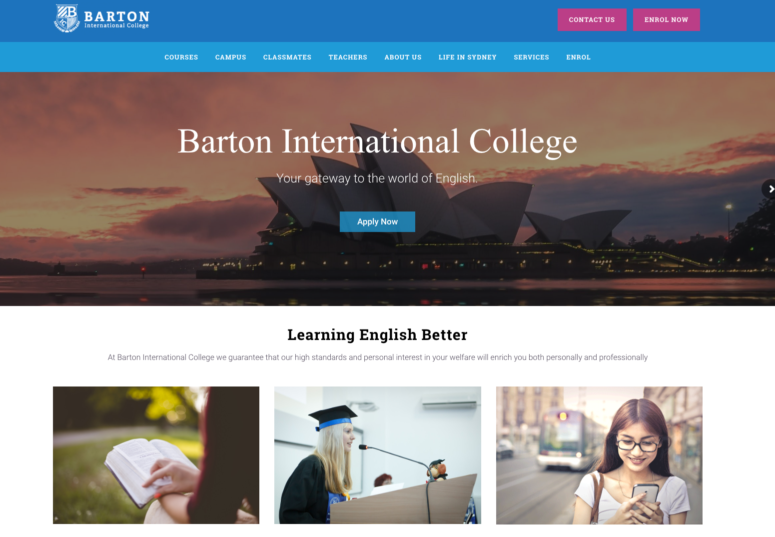 Barton International College