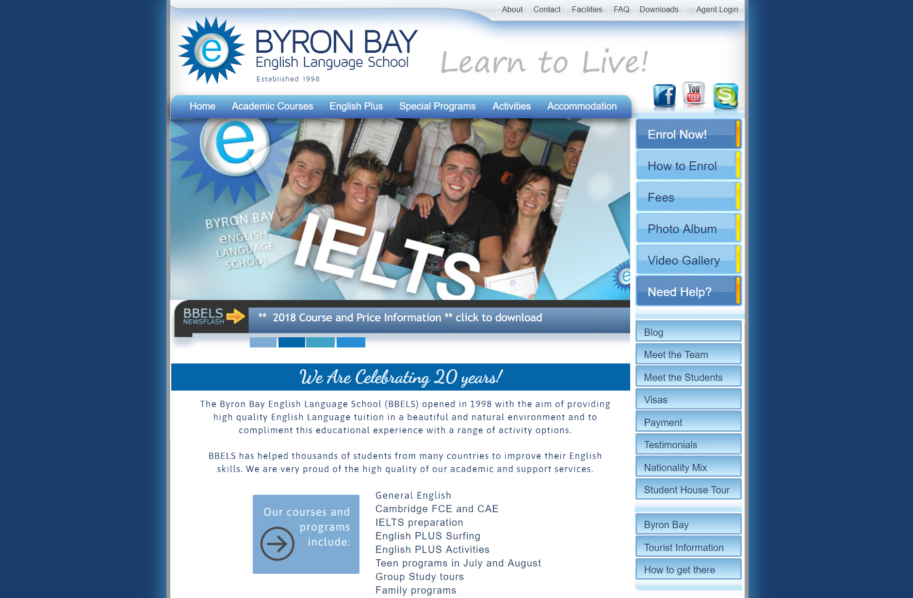 Byron Bay English Language School (BBELS)
