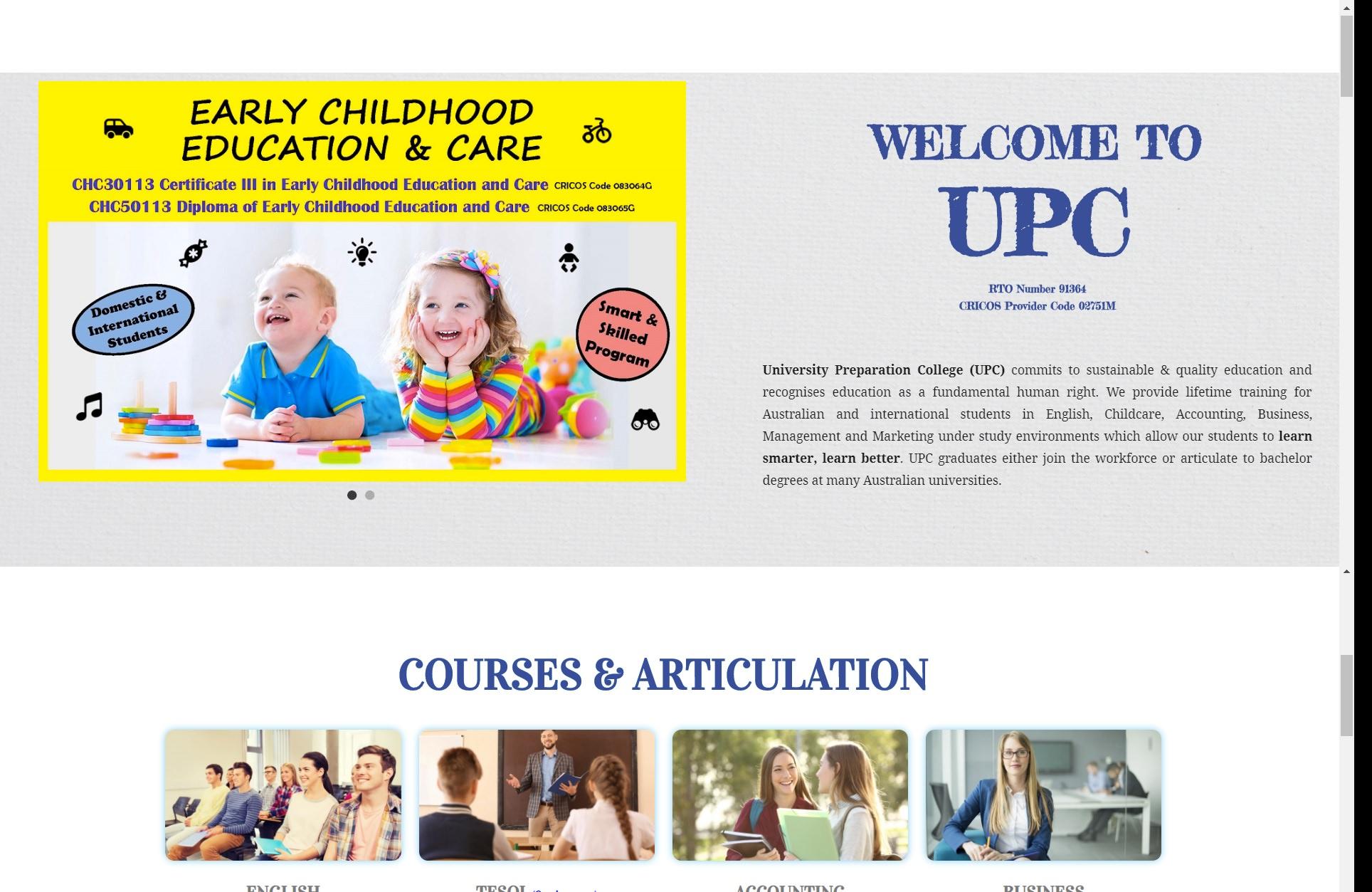 University Preparation College(UPC)