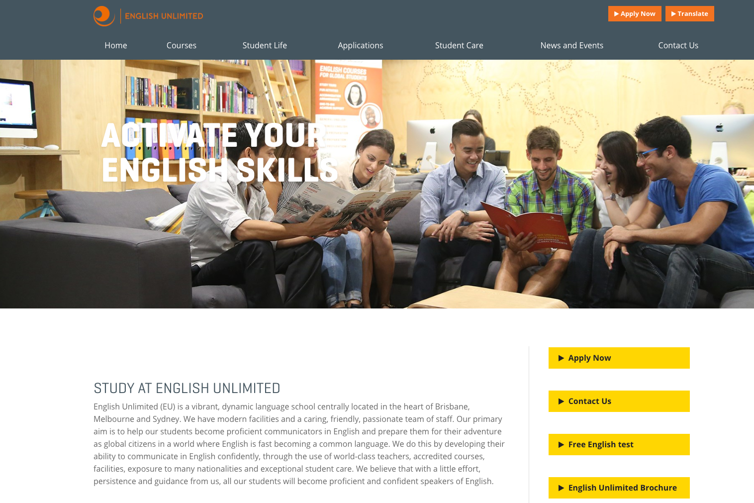 English Unlimited(EU)Sydney CBD Campus