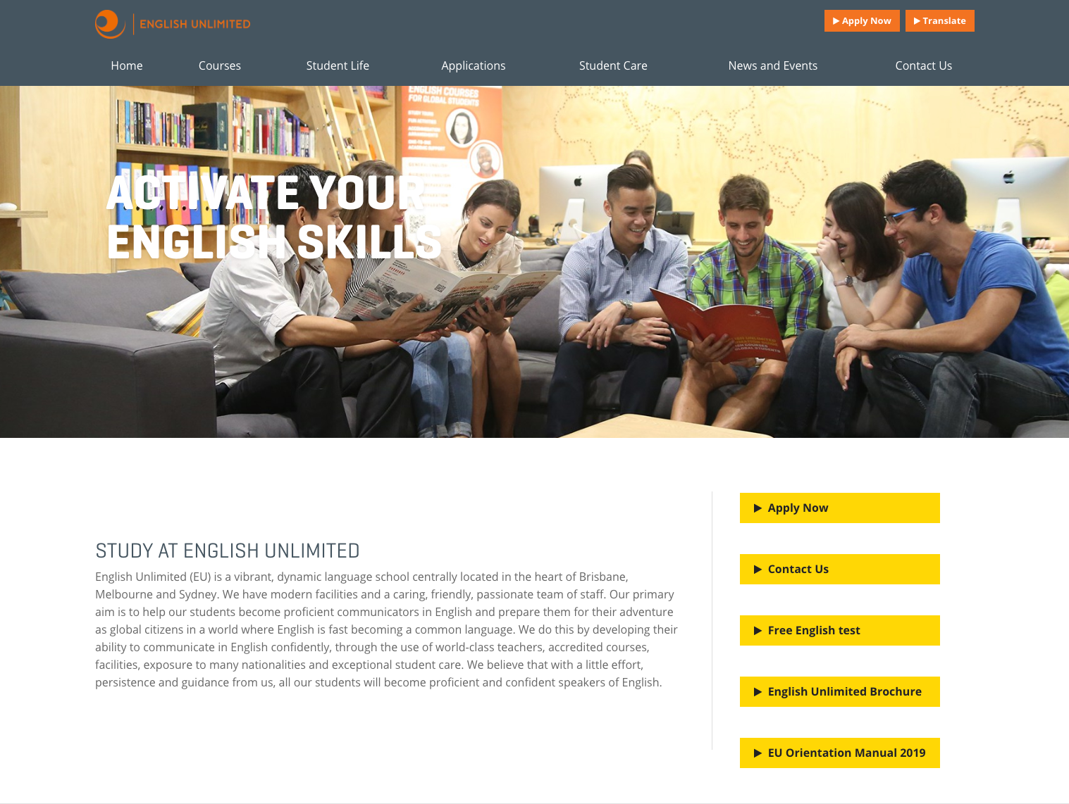 English Unlimited(EU) Melbourne Campus