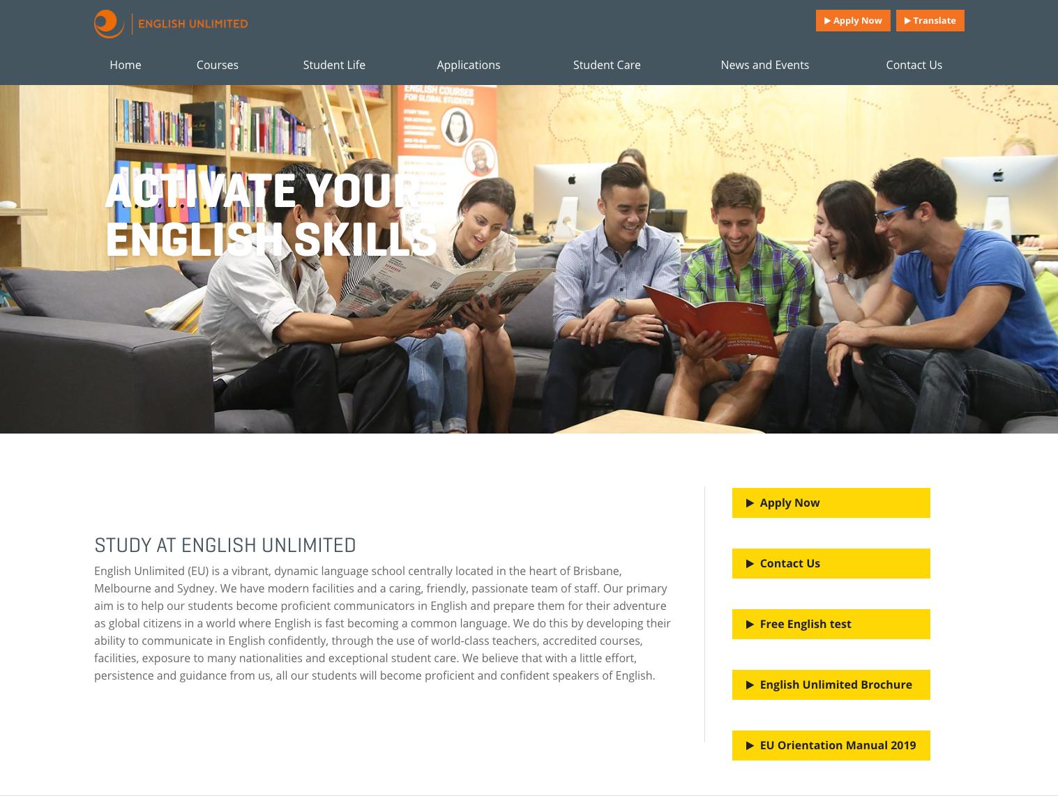 English Unlimited(EU) Melbourne Campus