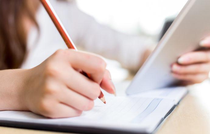 鉛筆 ノート 勉強