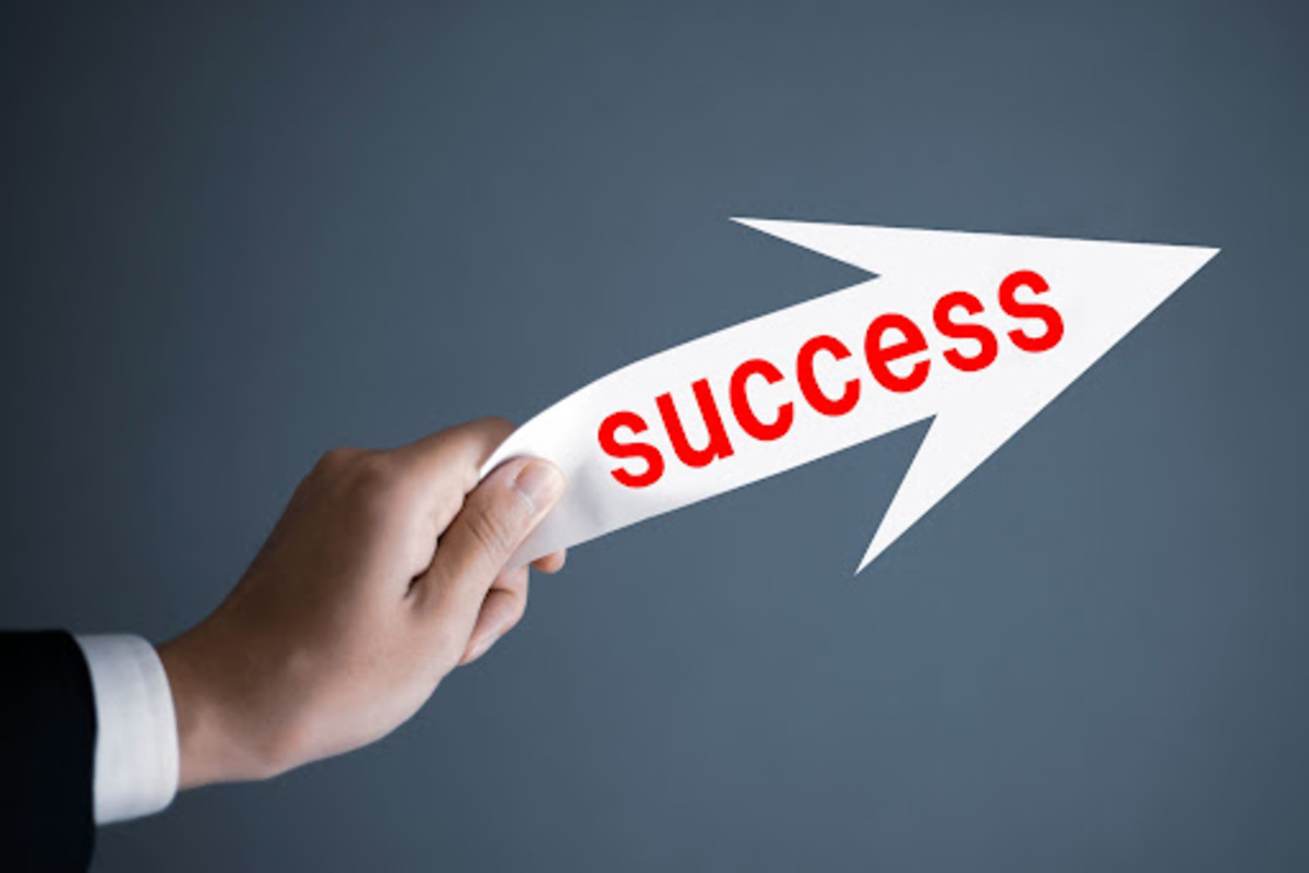 矢印 Success